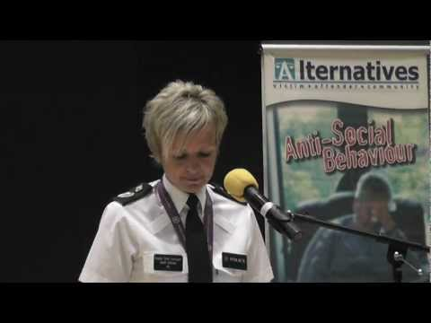 Judith Gillespie OBE Deputy Chief Constable of the PSNI at Alternatives AGM