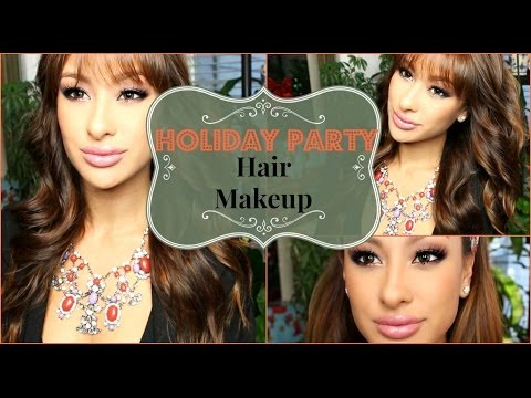 Holiday Party Makeup & Hair-Complete Look