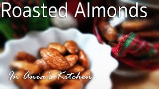Honey & Maple Roasted Almonds