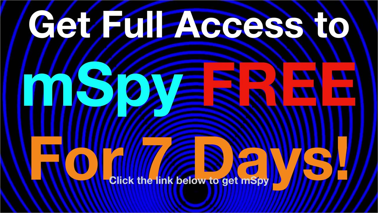 Free MSPY – 7 days trial protection from kid's online threats