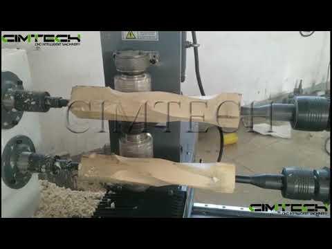 High preicison wood cnc lathe, wood cnc milling machine