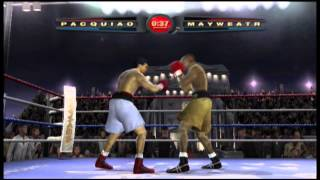Pacquiao vs Mayweather - Fight Night 2004 (Xbox)