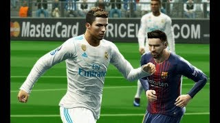 [PC] Real Madrid vs FC Barcelona - Gameplay Nouveaux Maillots 2018 PES 2013