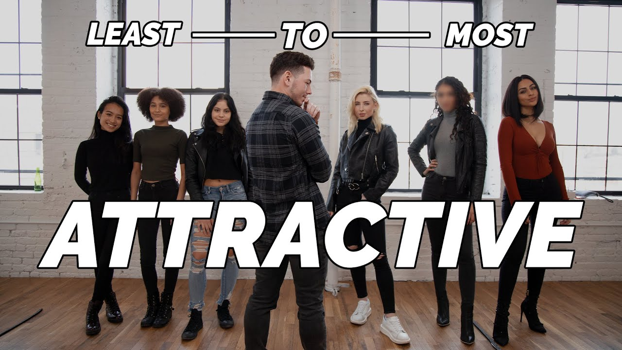1 Guy Rates 6 Girls From Least to MOST Attractive
