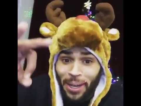 Chris Brown Hilarious Christmas Melody