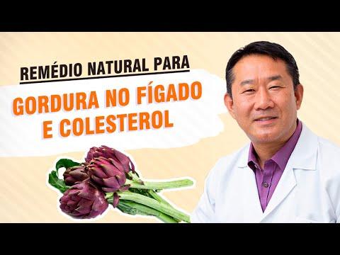 Trata a Gordura no fígado, colesterol com remédios naturais. Com Dr. Peter Liu.