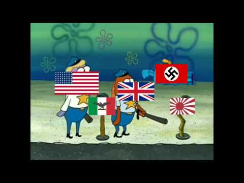 The aftermath of World War 2