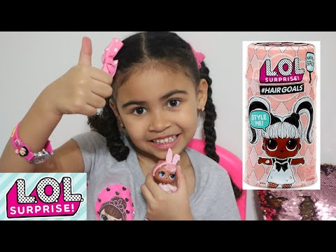 LOL Doll Surprise Hair Goals series Snow Bunny