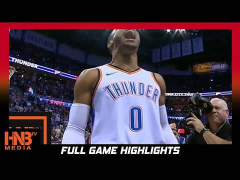 Oklahoma City Thunder vs Indiana Pacers 1st Qtr Highlights / Week 2 / 2017 NBA Season