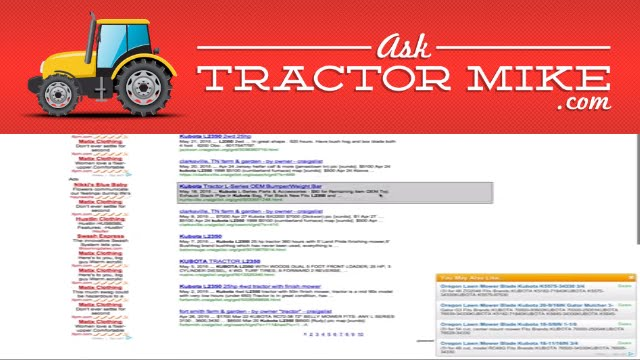 compact tractor blue book