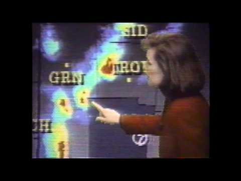 WHIO-TV NewsCenter 7 Severe Weather Promo (1996)