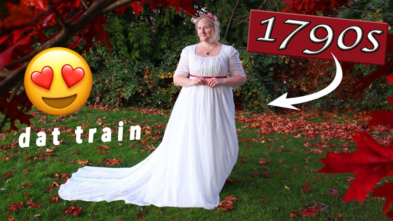 I Sewed a Regency Gown || Recreating a Regency Fashion Plate PT. 1