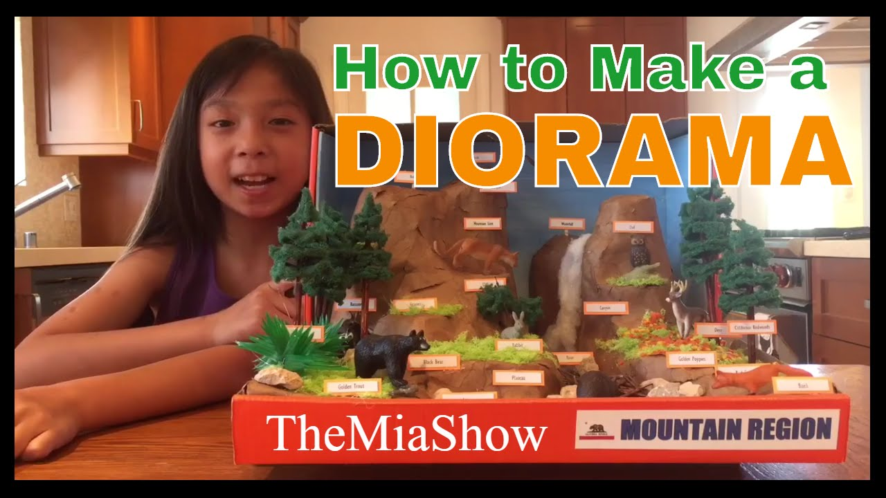 How To Make A Diorama Awesome Tips Youtube