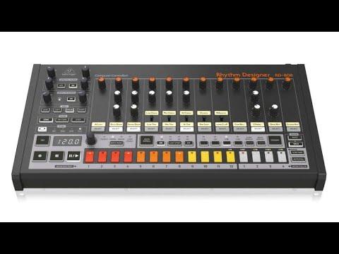 behringer rd 808 drum machine roland tr 808 clone hands on demo youtube. Black Bedroom Furniture Sets. Home Design Ideas