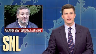 Weekend Update: Ted Cruz Goes to Cancun - SNL