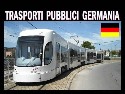 TRASPORTI PUBBLICI IN GERMANIA !!!