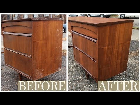 How To Strip Refinish Wood Furniture With Zip Strip By Jon Peters
