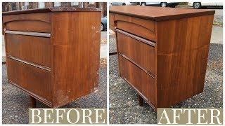 Thrift Store rescue #9 | $5.00 Mid Century Desk Restoration