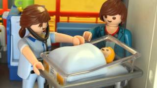 Mama bekommt ein Baby Playmobil Film seratus1 obtient un bébé stop motion