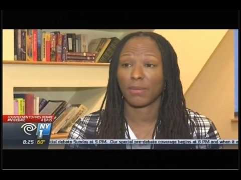 NY1 Oct 2016: Interview with Chamique Holdsclaw & Steve Coe