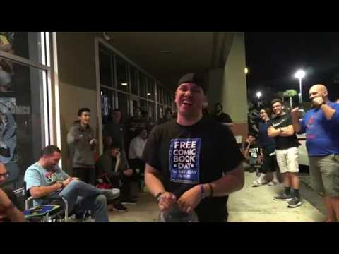 Re-live Miami's BEST Action Comics 1000 Midnight Release