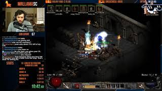 Diablo 2 - 8 MAN HELL SPEEDRUN (02/03/2019)