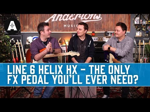 Line 6 Helix HX - The Only Guitar FX Pedal You'll Ever Need?