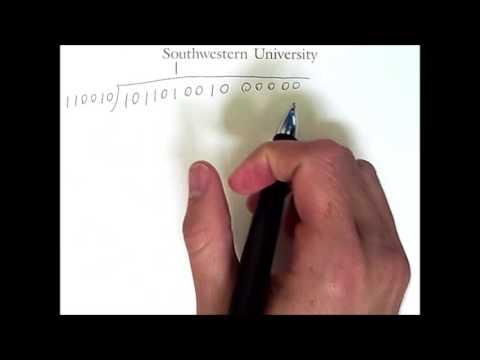 Error Detection and Correction 2: Cyclic Redundancy Check