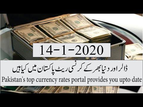 14-1-2020 Currency Rates In Pakistan I Us Dollar Saudi Riya Luae Dirham I Open Market Exchange Rate