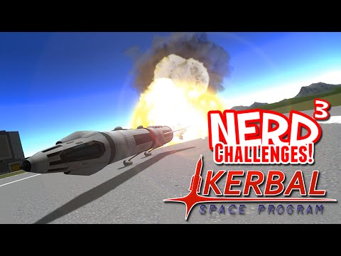 Nerd³ Challenges! Land Speed Record! - Kerbal Space Program