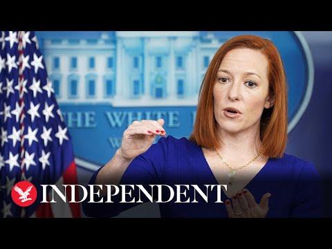 Jen Psaki says she will step down as Biden's press secretary next year