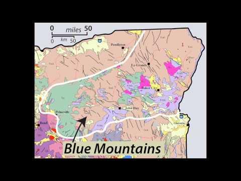 Roadside Geology of Oregon: Blue Mountains