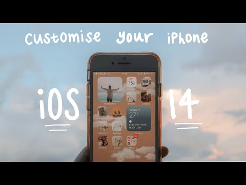 EASY Tutorial: Create Aesthetic Customization With IOS 14 On Your IPhone