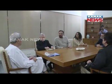Bollywood Actor Kabir Bedi Meets CM Naveen Patnaik