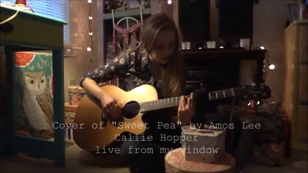 Cover Of Sweet Pea By Amos Lee Callie Hopper Live From My