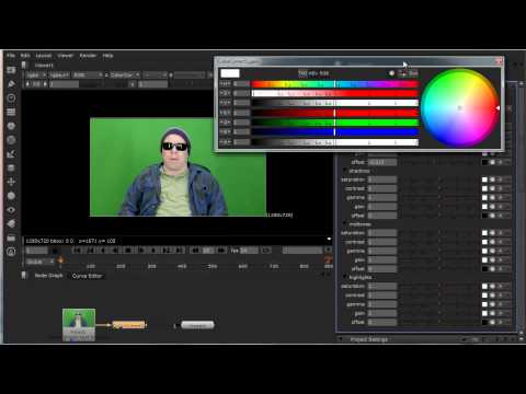 Using Track Mattes In Nuke