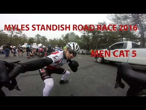 Travis Cycle Racing: Myles Standish State Forest Road Race 2016 With Commentary Cat 5 Men