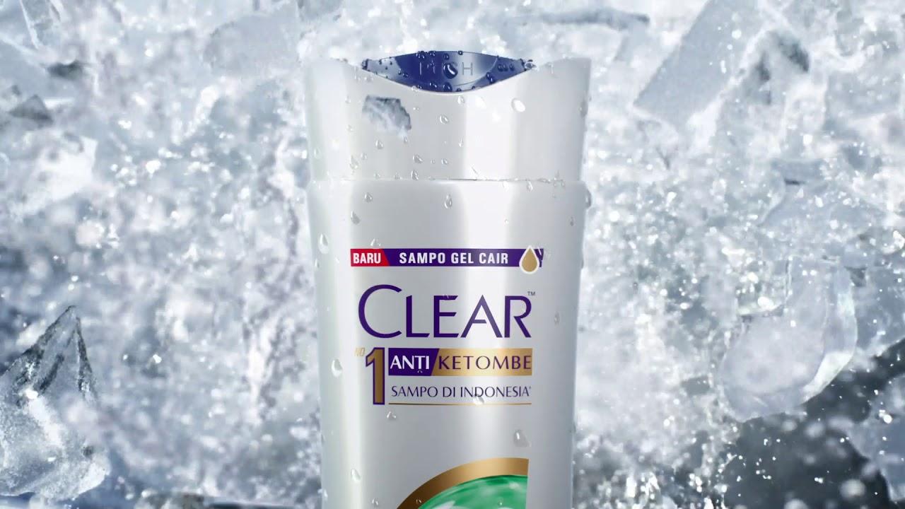 Baru! Clear Ice Cool Menthol, Sedingin Es dan Lembap menyeluruh!