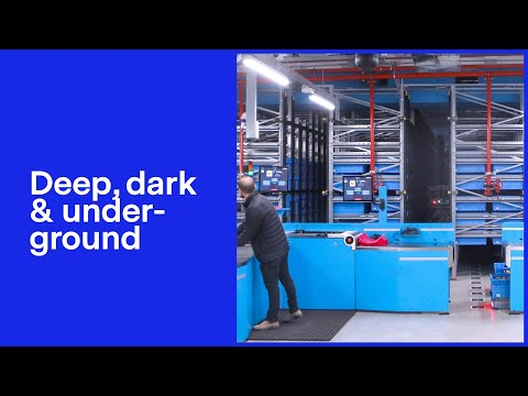 World's first underground automated warehouse to open in