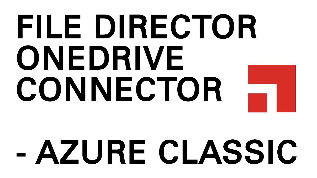 File Director - OneDrive connector for Home map points in the Azure Classic  portal