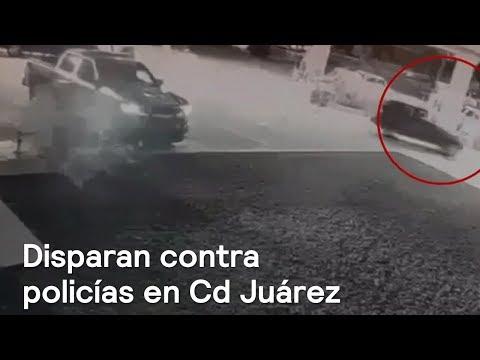 Atacan a tiros a policías en Ciudad Juárez y Chihuahua - En Punto con Denise Maerker