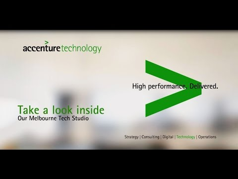 Accenture Technology - Take a look inside Melbourne Tech studio