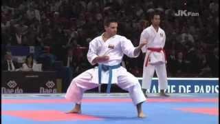 Luca Valdesi vs. Antonio Diaz - Comparison of 2 World Kata Champions