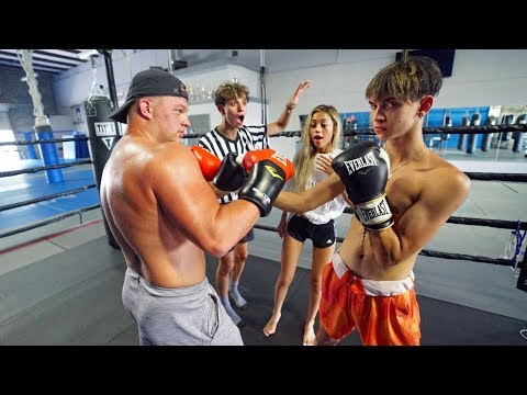 BOXING my GIRLFRIEND'S Ex BOYFRIEND for $20,000!