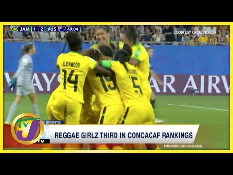 Reggae Girlz 3rd in Concacaf Rankings - Sept 30 2021