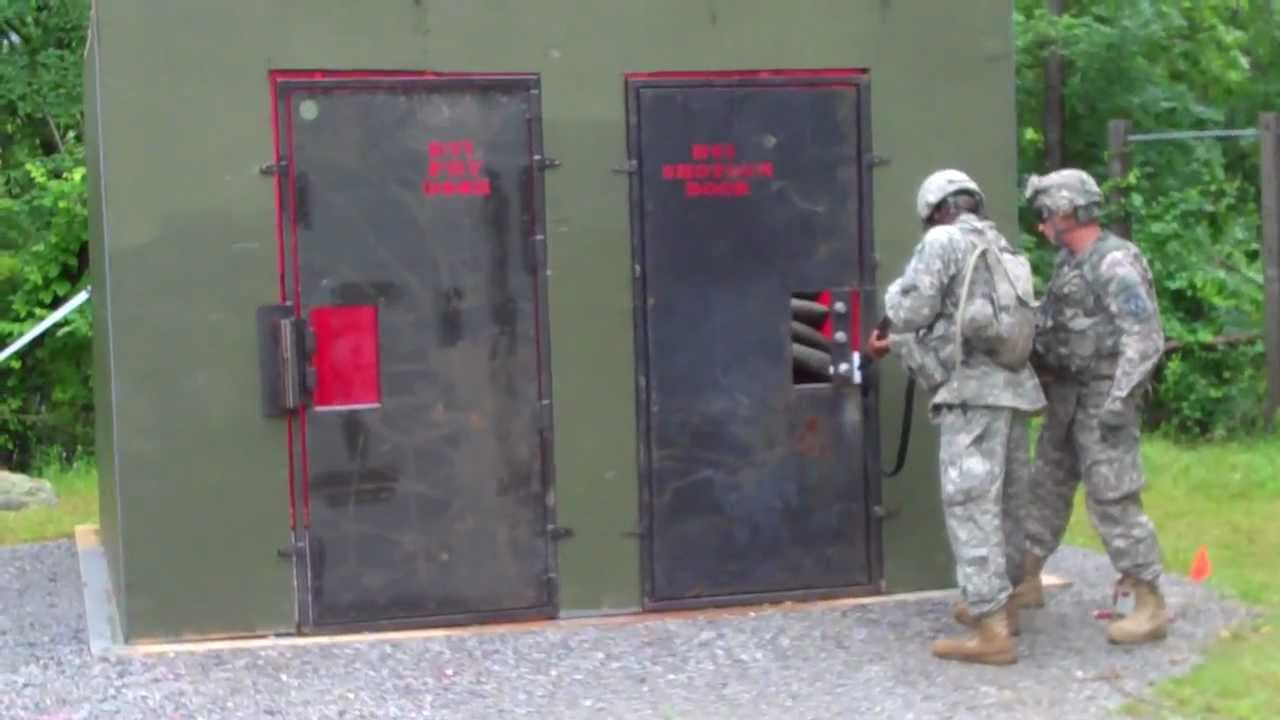 Shotgun Breaching a door & Shotgun Breaching a door - YouTube