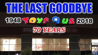 "THE LAST GOODBYE | A TOYS ""R"" US TRIBUTE 