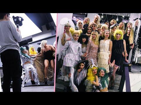 """NY2019 Новогодний корпоратив. Тема костюмов - Lady Gaga. Beauty Salon """"Maxim Kulikov"""""""