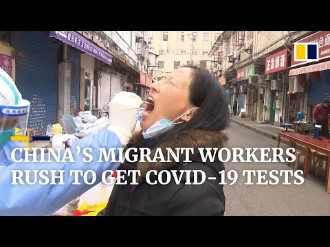 China's migrant workers rush to get Covid-19 test as local infections complicate Lunar New Year trip thumbnail