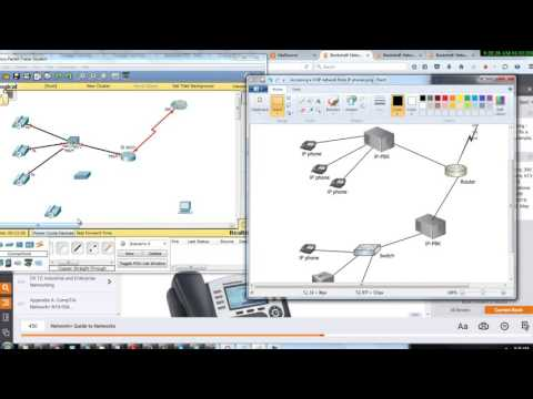 Accessing a VOIP network from IP phone